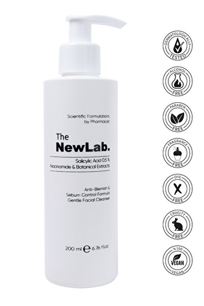 The NewLab Akne Karşıtı & Sebum Kontrol Yüz Temizleyici