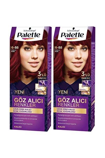 PALETTE BASIC Göz Alıcı Renkler 6-88 Yoğun Kızıl  X 2 Adet