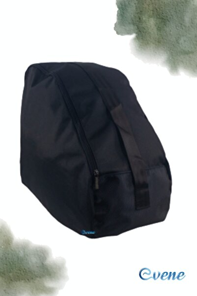 Evene Paten Taşıma Çantası Çocuk Paten Taşıma Çanta Siyah