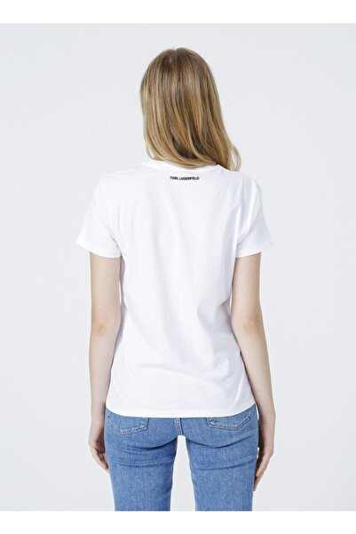 Karl Lagerfeld T-shirt, S, Beyaz