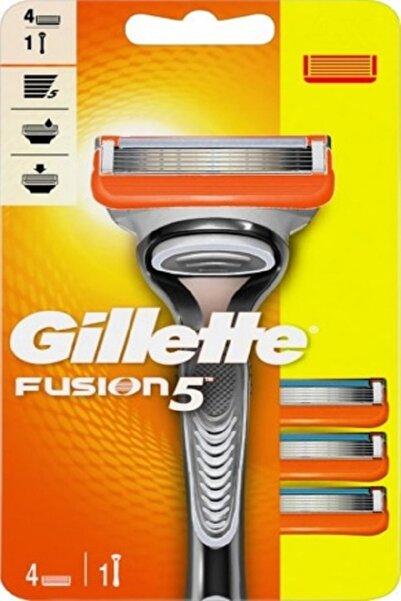 Gillette Fusion 5 Tıraş Makinesi + 4 Yedek Bıçak