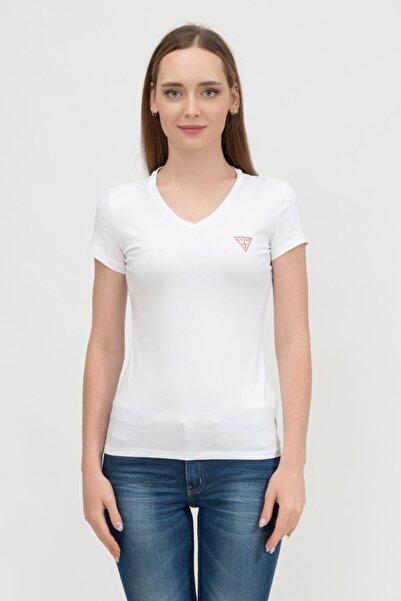 Guess Kadın V Yaka T-shirtw1yı1aj1311
