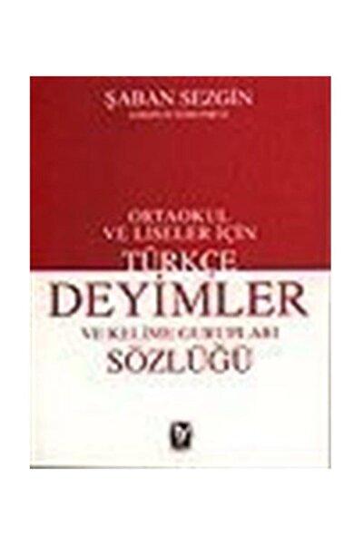 Tekin Yayınevi Türkçe Deyimler Ve Kelime Gurupları Sözlüğü / Ortaokul Ve Liseler Için