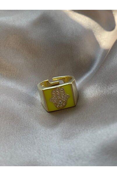 Fi Season Mineli Taşlı El Figürlü Yüzük 925 Gümüş