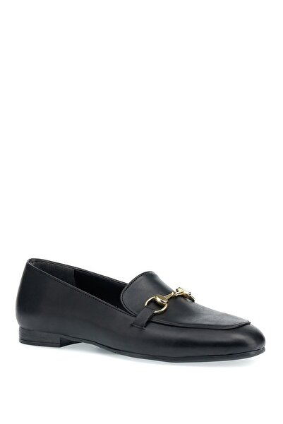 Butigo Elıza 1pr Siyah Kadın Loafer Ayakkabı