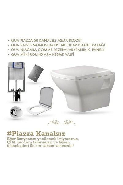 QUA Pıazza K.sız Asma Klozet Set-'dan Tüketici Dostu Ürünler!