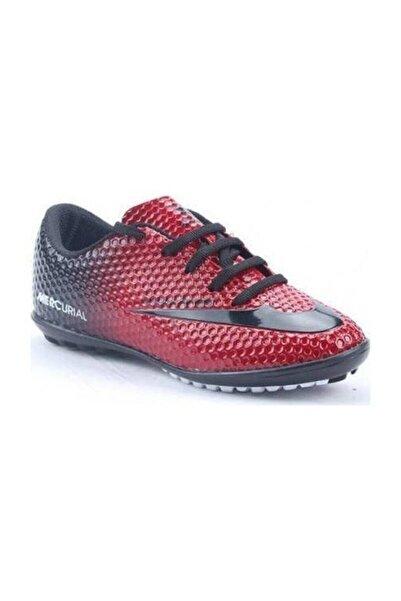 Walked Erkek Kırmızı Halısaha Futbol Spor Ayakkabı