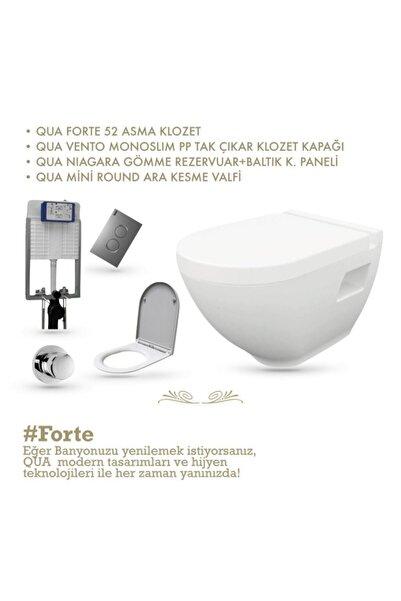 QUA Forte Asma Klozet Set- 'dan Tüketici Dostu Ürünler!
