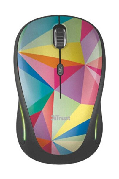 Trust Yvi FX Kablosuz Mouse - Geometrics (22337)
