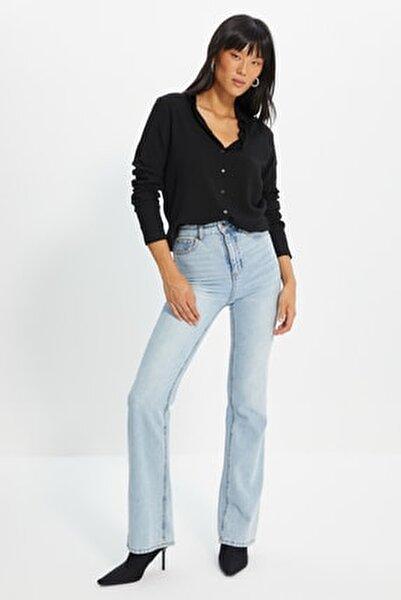 Siyah Basic Gömlek TWOAW20GO0218