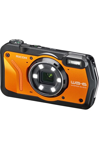 Ricoh Wg-6 Turuncu Dijital Fotoğraf Makinesi