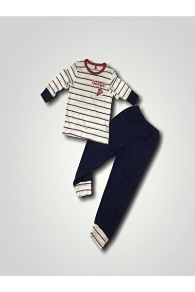 TMR Kız Çocuk Interlok Kumaş Pijama Takımı