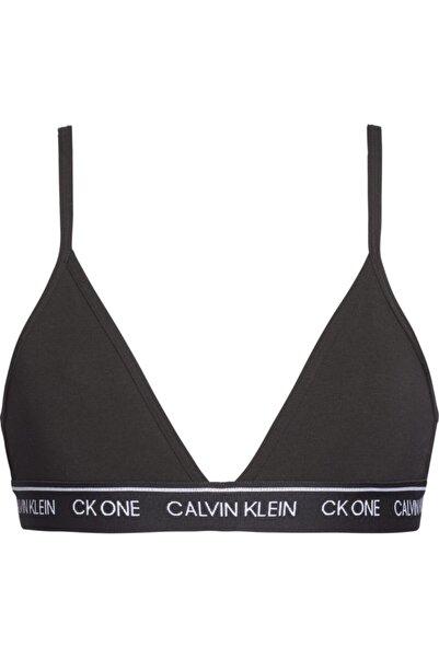Calvin Klein Kadın Siyah Unlıned Trıangle Sütyen