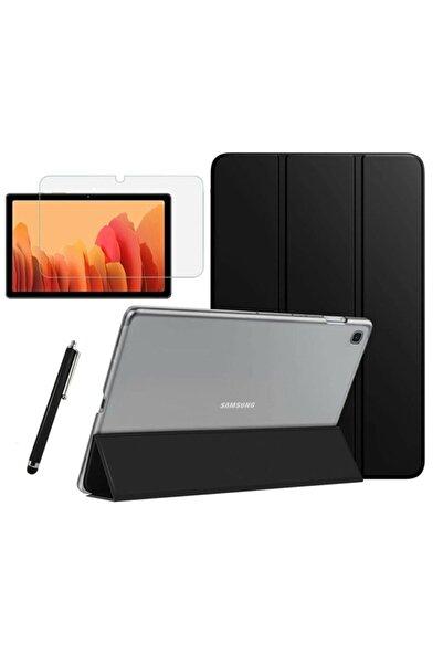 Samsung Galaxy Tab A7 Sm T500 T505 T507 Uyumlu Smart Kapak Tablet Kılıfı + Ekran Koruyucu + Kalem 10.4 Inç