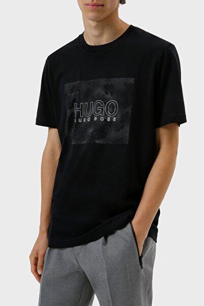 Hugo Boss Regular Fit Baskılı Bisiklet Yaka % 100 Pamuk T Shirt Erkek T Shirt 50456859 001