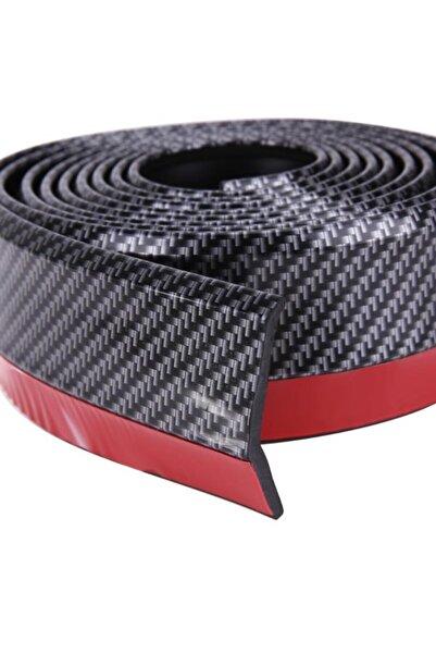 Ürün Gezegeni Siyah 2,5 Metre Araba Oto Ön Tampon Koruyucu Kauçuk Pratik Tampon Şerit Bant Döşeme Kiti