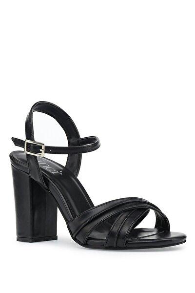 İnci Jeanys.z 1pr Siyah Kadın Topuklu Ayakkabı