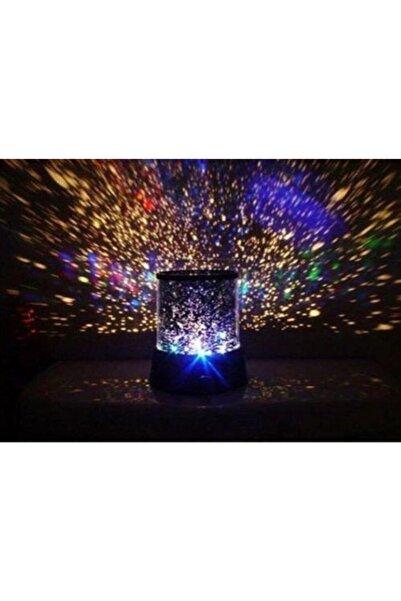 GODERNE Yıldızlı Gece Lambası Projeksiyon Tavan Işık Yansıtma Işıklı Küre
