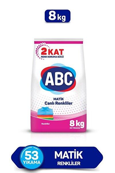 ABC Toz Deterjan Renkliler 8 kg