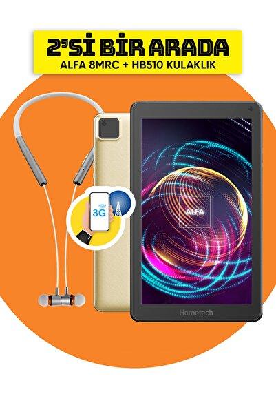 Hometech Alfa 8 Mrc 3g Simkartlı 8 Inç Ekran 2gb Ram 32gb Hafıza Gold