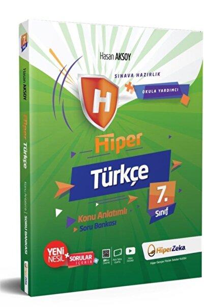 Hiper 7. Sınıf Türkçe Konu Anlatımlı Soru Bankası Zeka Yayınları