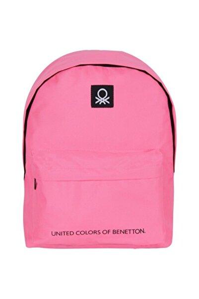 United Colors of Benetton Sırt Çantası 70686 Pembe
