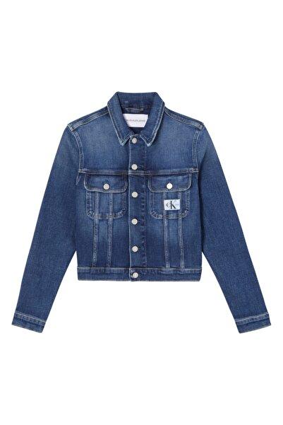 Calvin Klein Mavi Ceket