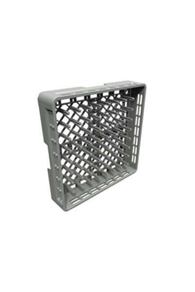Makmed Endüstriyel Bulaşık Makinesi Tabak Yıkama Basketi Bulaşık Makinesi Sepeti 50x50cm