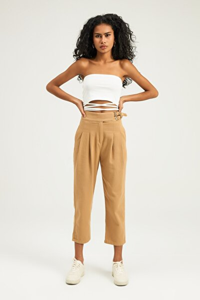 Quzu 70825 Kadın Klasik Pantolon