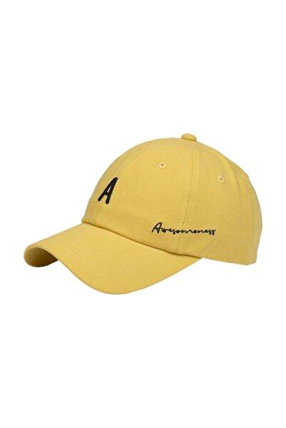 Nordbron Şapka Awesomeness Nakış Sarı