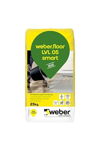 WEBER .floor Lvl 05 Smart Kendiliğinden Yayılan Tesviye Şapı
