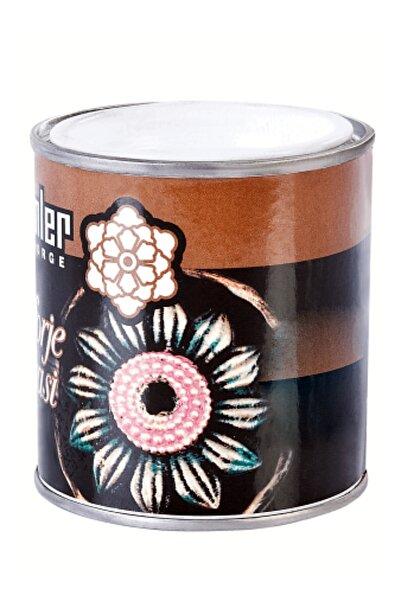 Şahinler Patina Paint Metal Ferforje Boyası Alüminyum Yaldız Renkli  1 Adet 1 No'lu Fırça