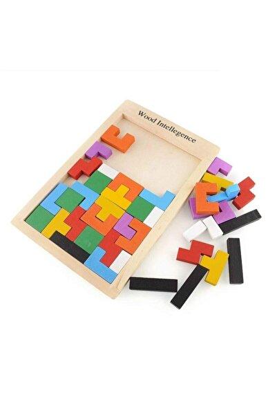 Learning Toys Eğitici Ahşap Blok Tetris Zeka Oyunu