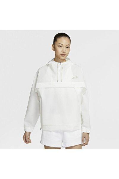Nike Women's Nıke Sportswear Anorak Jacket In Whıte Da7657-100