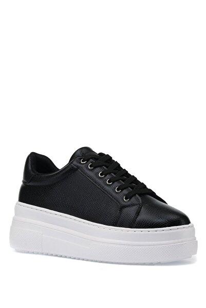 İnci Siyah Kadın Sneaker