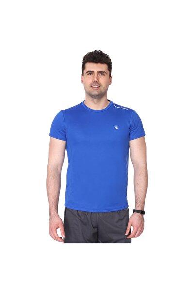Sportive Spo-fortunato Erkek Mavi Günlük Stil Tişört 710301-0sx-sp