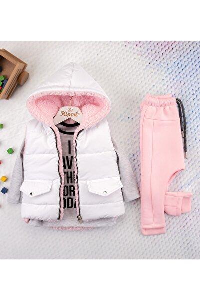 Hippıl Baby Hippıl Şişme Yelekli Kapüşonlu Tarz Lüks Takım