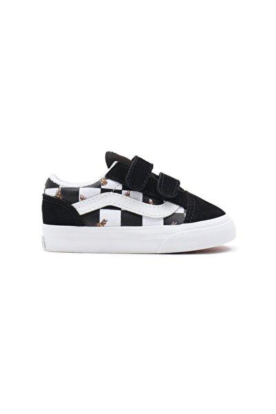 Vans Td Old Skool V Bee Check Unisex Çocuk Sneaker
