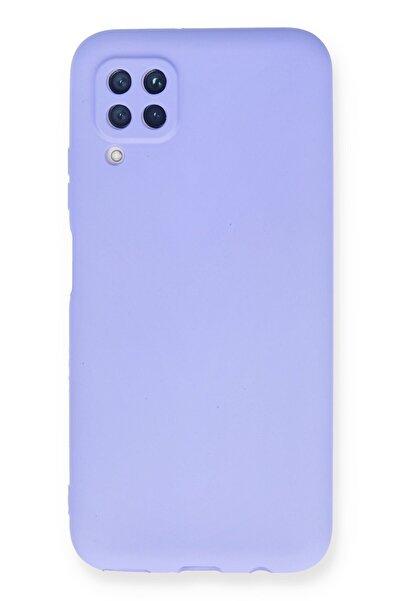 Huawei Asil P40 Lite Kılıf Renkli Soft Ve Pürüzsüz Premier Lüks Silikon Kapak - Lila
