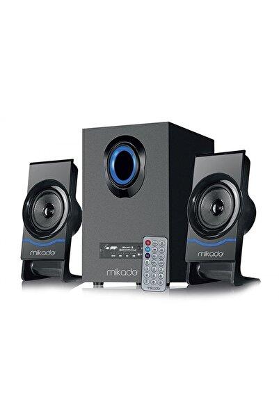 Mikado Md-1700bt 2+1 Siyah Usb+sd+fm Destekli Multimedia Bluetooth Speaker