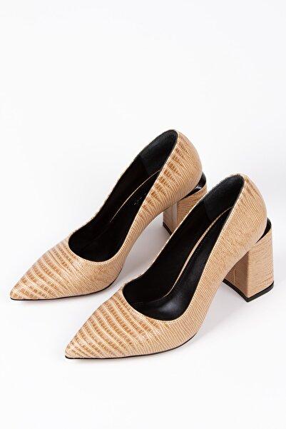 Alessia Shoes Kadın  Detaylı Dekolte Stiletto