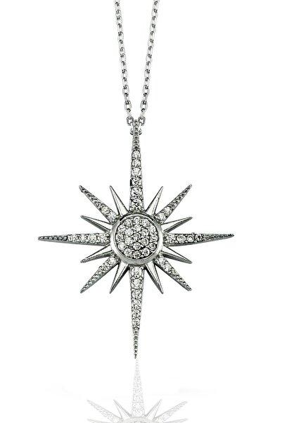 Molenga Kutup Yıldızı Kolye Gümüş
