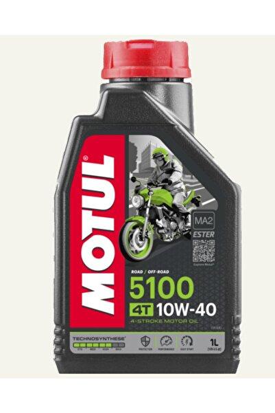 Motul 4t 5100 10w-40 Motosiklet Yağı 1 Litre (üretim Tarihi 2021)