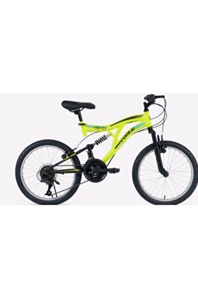 Rookie Erkek Yeşil 20 Jant Çift Amortisör 18 Vites Bisiklet