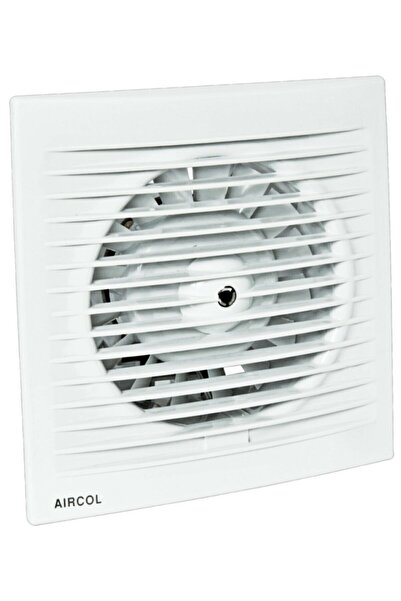 Aircol 200lük Sessiz Dekoratif, Plastik Banyo Fanı / Aspiratörü 350 M³/h