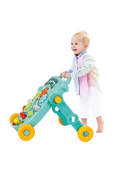 Baby&Toys Baby Toys Happy Ilk Adım Arabası