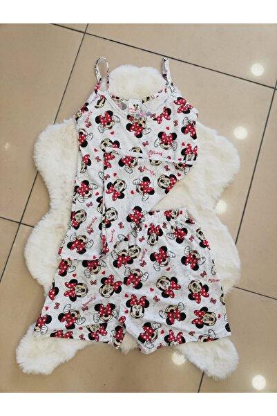 Mickey Mouse Şortlu Pijama Takım
