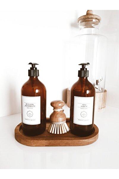 Reoona 2'li Sıvı Sabun Ve Bulaşık Deterjanı Şişesi 500 ml