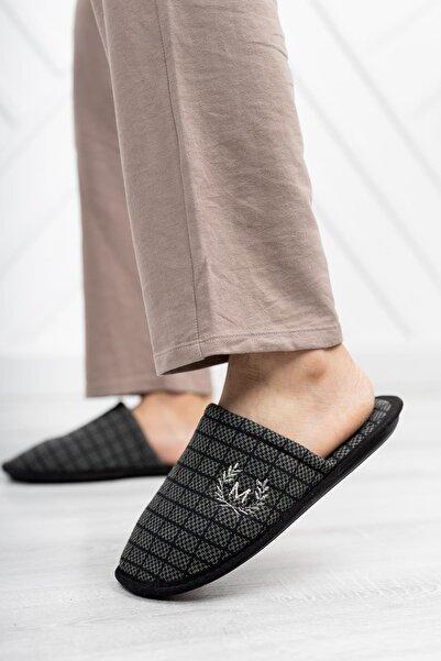 Moda Frato Motif 2150 Erkek Ev Terliği Kışlık Terlik
