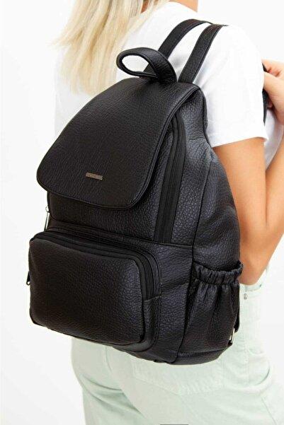 Newish Polo Newis Polo Su Geçirmez Vegan Deri Çapraz Omuz Çantası Body Bag Freebag (18X27CM)